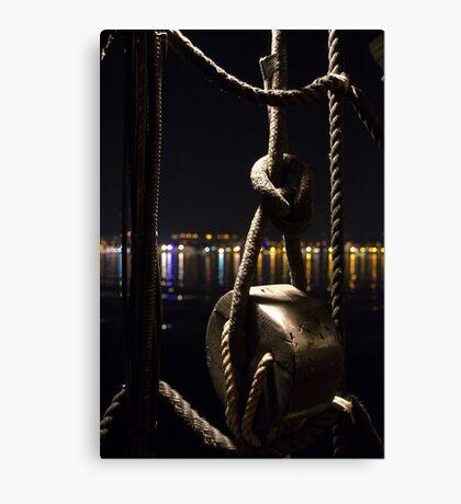 Night sailor Canvas Print