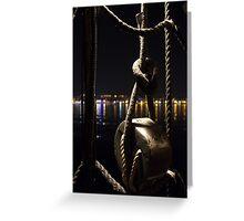 Night sailor Greeting Card