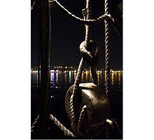 Night sailor Photographic Print