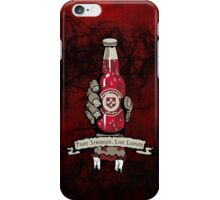 Fight Stronger, Live Longer (V2) iPhone Case/Skin