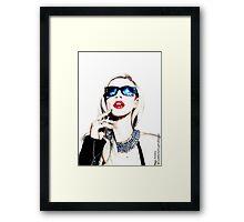 Iggy Azalea Framed Print