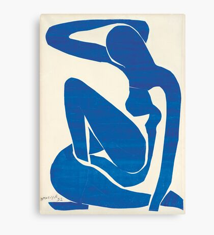 Matisse Blue Nude II Canvas Print