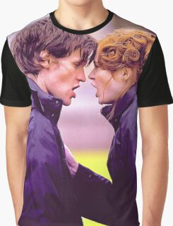 Matt Smith and Karen Gillan Graphic T-Shirt