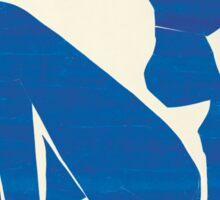 Matisse Blue Nude II Sticker