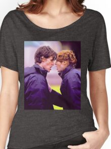 Matt Smith and Karen Gillan Women's Relaxed Fit T-Shirt
