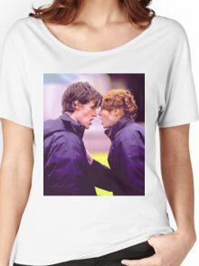 Matt Smith and Karen Gillan Women's Relaxed Fit T-Shirt