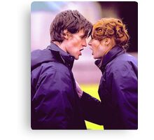 Matt Smith and Karen Gillan Canvas Print
