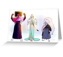Kimono Gems! Greeting Card