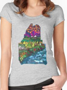 Big Beautiful Maine Women's Fitted Scoop T-Shirt