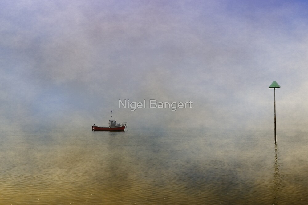 At Anchor by Nigel Bangert