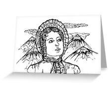 Elizabeth Bennet Greeting Card