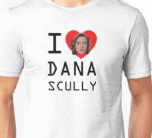 I Heart Dana Scully Unisex T-Shirt