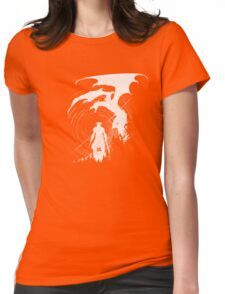 Dragon Fighter Womens Fitted T-Shirt