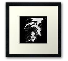 Dragon Fighter Framed Print
