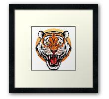 Bengal Tiger Head Framed Print