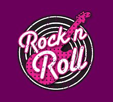 Rock n Roll with punk guitar distressed by jazzydevil