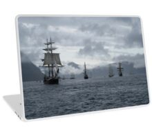 sails in the fjords Laptop Skin