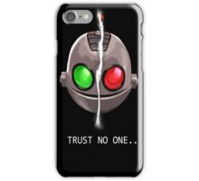 Clank & Klunk - Trust No One iPhone Case/Skin