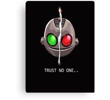 Clank & Klunk - Trust No One Canvas Print