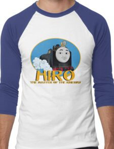 Hiro - The Master of the Railway Men's Baseball ¾ T-Shirt