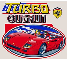 Turbo Outrun Photographic Print