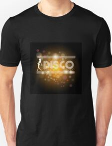 Disco music design Unisex T-Shirt
