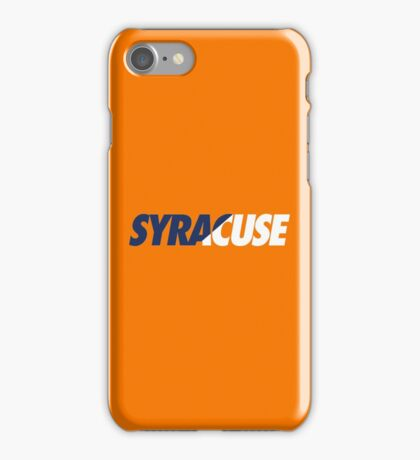 SYRACUSE - SLANT iPhone Case/Skin