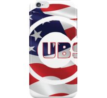 Cubs Flag iPhone Case/Skin