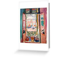 Matisse The Window Greeting Card