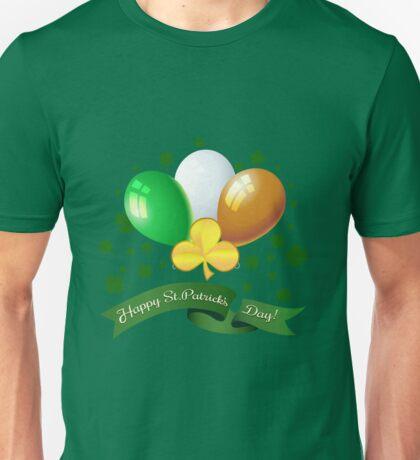 Saint Patricks Day Greeting theme Unisex T-Shirt