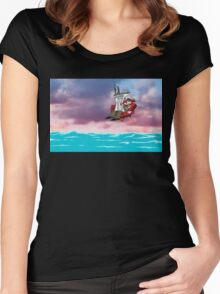 Courage the Cowardly Dog Women's Fitted Scoop T-Shirt
