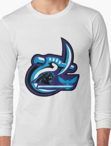 UNC Charlotte Panthers Hornets Long Sleeve T-Shirt