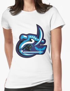 UNC Charlotte Panthers Hornets Womens Fitted T-Shirt
