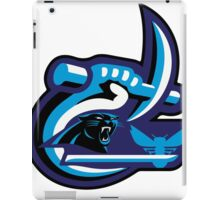 UNC Charlotte Panthers Hornets iPad Case/Skin