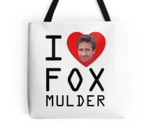 I Heart Fox Mulder Tote Bag