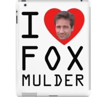 I Heart Fox Mulder iPad Case/Skin