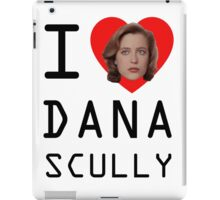 I Heart Dana Scully iPad Case/Skin