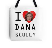 I Heart Dana Scully Tote Bag