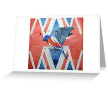 Tribute to David Bowie Greeting Card