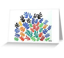 Matisse La Gerbe (The Sheaf) Greeting Card