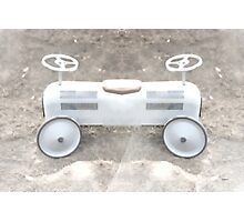 child's pedal car built for two Photographic Print