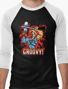 Earthworm Ash Men's Baseball ¾ T-Shirt