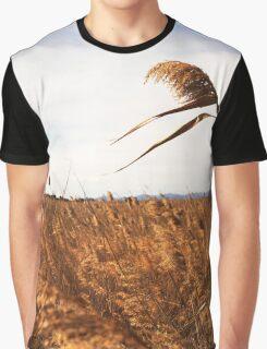 Wheat field- Campo de trigo Graphic T-Shirt