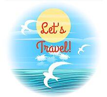 Travel theme Photographic Print