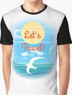 Travel theme Graphic T-Shirt