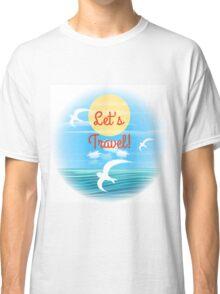 Travel theme Classic T-Shirt