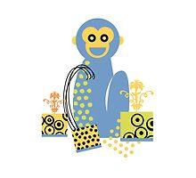 Blue Monkey by StudioBest