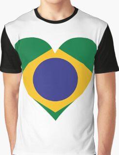 A Heart for Brazil Graphic T-Shirt