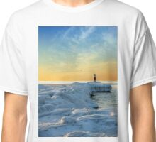 Winter River Channel Classic T-Shirt