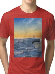 Winter River Channel Tri-blend T-Shirt
